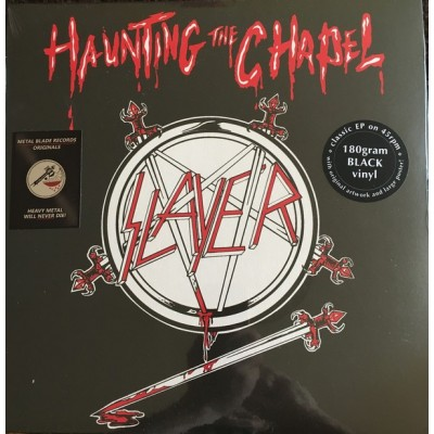 SLAYER: HAUNTING THE CHAPEL LP