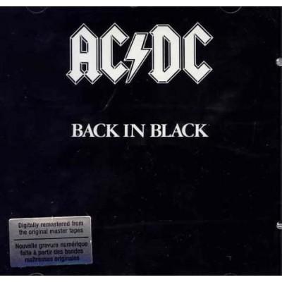 AC/DC: BACK IN BLACK CD dgp