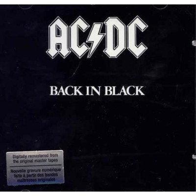 AC/DC: BACK IN BLACK CD dgp