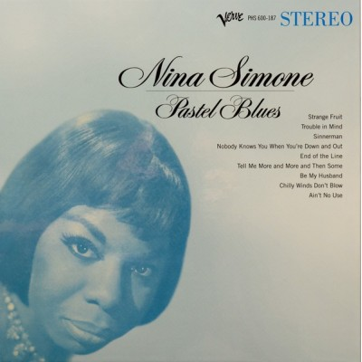 SIMONE NINA: PASTEL BLUES 1LP