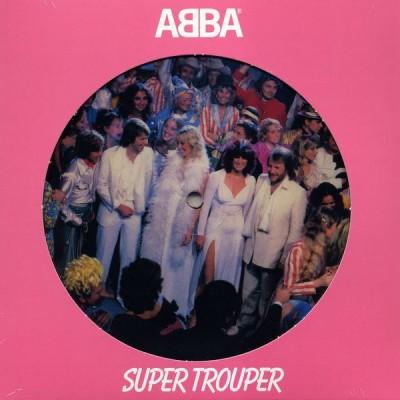 ABBA: SUPER TROUPER 7in
