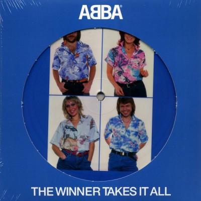 ABBA: WINNER TAKES IT ALL 7in