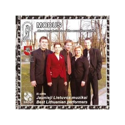 AKORDEONŲ KVINTETAS MODUS:  CD
