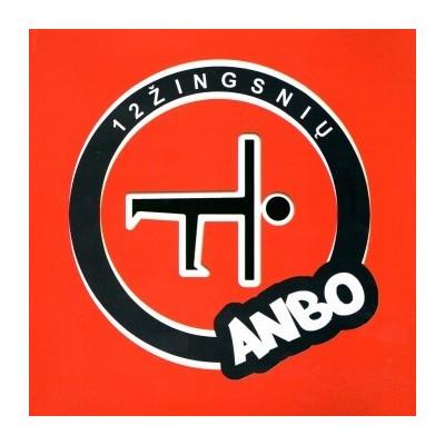 ANBO: 12 ŽINGSNIŲ CD