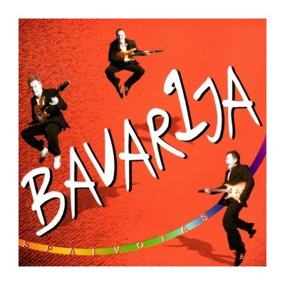 B'AVARIJA: SPALVOTAS CD