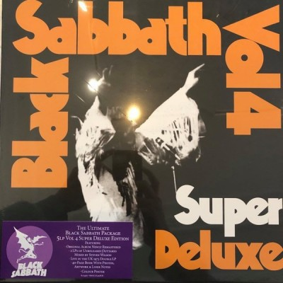 Black Sabbath: Vol. 4 5LP BOX