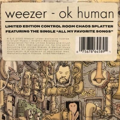 Weezer: OK Human -LIMITED 1LP