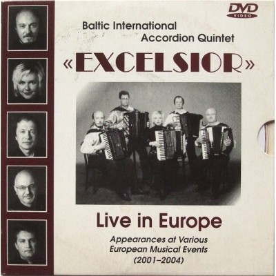 EXCELSIOR: LIVE IN EUROPE,...