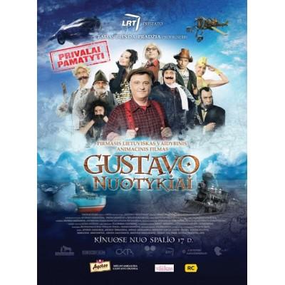 FILMAS: GUSTAVO NUOTYKIAI DVD