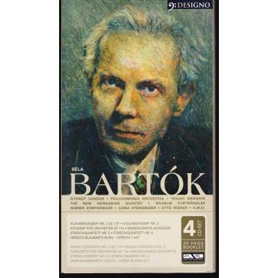 BARTOK BELA:  4CD