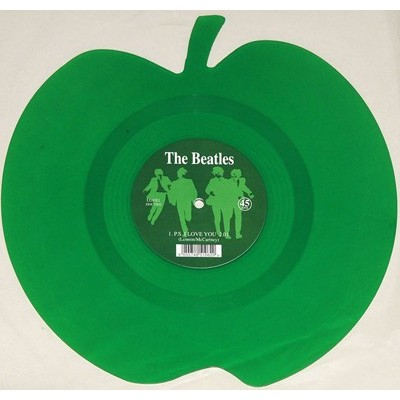 BEATLES: 7-LOVE ME DO-GREEN...