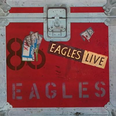 EAGLES: EAGLES LIVE 2 LP