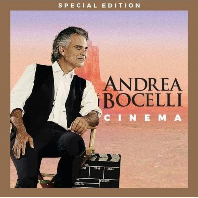 BOCELLI ANDREA: CINEMA DVD