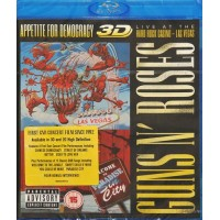 GUNS 'N ROSES: APPETITE FOR DEMOCRACY 3D LIVE AT THE HARD ROCK CASINO-LAS VEGAS Blu-ray Video