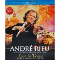 RIEU ANDRE: LOVE IN VENICE Blu-ray Video