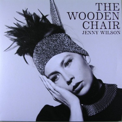 WILSON JENNY: WOODEN CHAIR...
