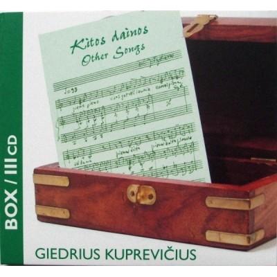 KUPREVIČIUS GIEDRIUS: BOX 3...