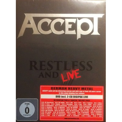 ACCEPT: RESTLESS&LIVE (...