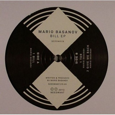 BASANOV MARIO: BILL EP LP