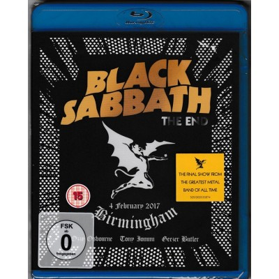 BLACK SABBATH: END Blu-ray...
