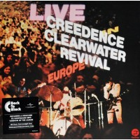 CREEDENCE CLEARWATER REVILE: LIVE IN EUROPE 2LP