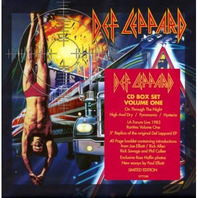 DEF LEPPARD: ALBUM BOX...
