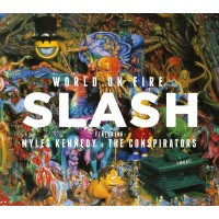 SLASH: WORLD ON FIRE CD dgp