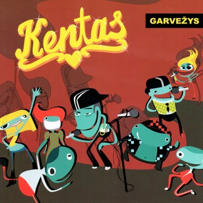 KENTAS: GARVEŽYS CD