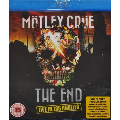 MOTLEY CRUE: END Blu-ray Video