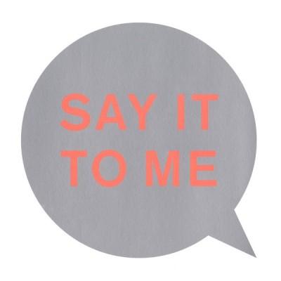 PET SHOP BOYS: SAY IT TO ME...