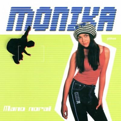 MONIKA CD: MANO NORAI CD
