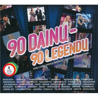 RINKINYS: 90 DAINŲ-90...