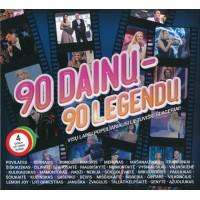 RINKINYS: 90 DAINŲ-90 LEGENDŲ 4CD