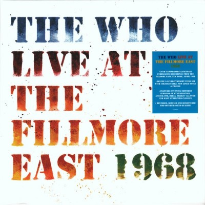 WHO: LIVE AT THE FILLMORE 3LP
