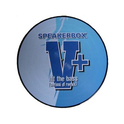 SPEAKERBOX: HIT THE BASS 12in