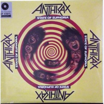 ANTHRAX: STATE OF EUPHORIA 2LP