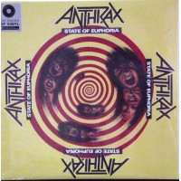 ANTHRAX: STATE OF EUPHORIA 2LP