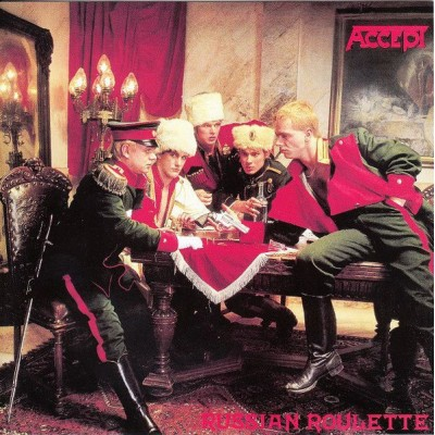 ACCEPT: RUSSIAN ROULETTE CD