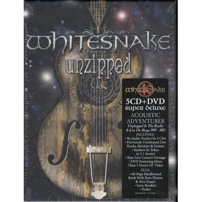 WHITESNAKE: UNZIPPED 6CD/DVD