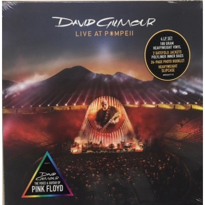 GILMOUR DAVID: LIVE IN...