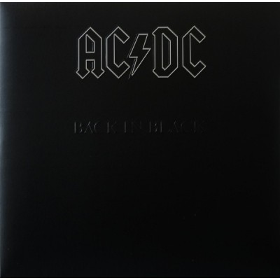 AC/DC: BACK IN BLACK LP