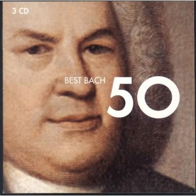 BACH J.S.: 50 BEST BACH 3CD
