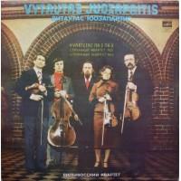 Juozapaitis Vytautas: Kvartetas Nr. 2, Nr. 3 LP