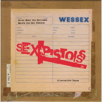 SEX PISTOLS: NEVER MIND THE...