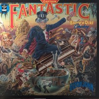 JOHN ELTON: CAPTAIN FANTASTIC LP
