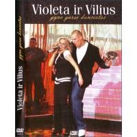 VIOLETA IR VILIUS: GYVO GARSO KONCERTAS DVD