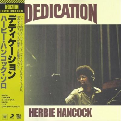 HANCOCK HERBIE: DEDICATION...