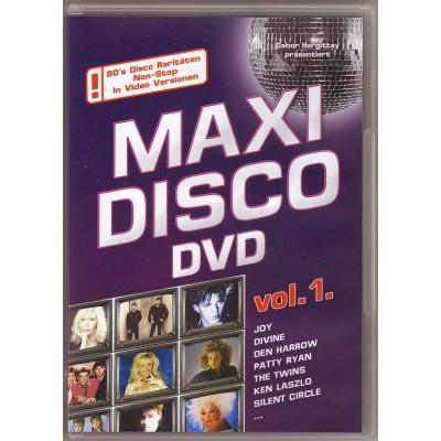 VARIOUS: MAXI DISCO DVD...