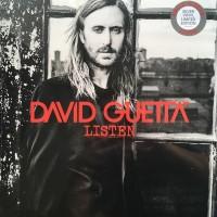 GUETTA DAVID: LISTEN-COLOURED 2LP