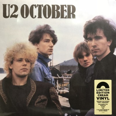 U2: OCTOBER-COLOURED LP
